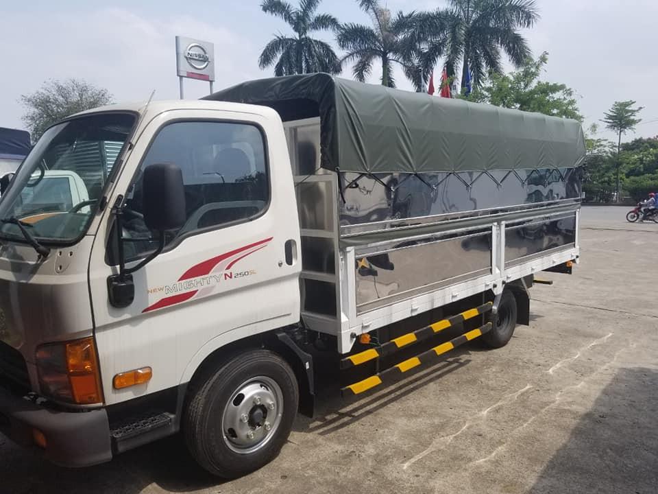 HYUNDAI N250SL THÙNG BẠT 2021